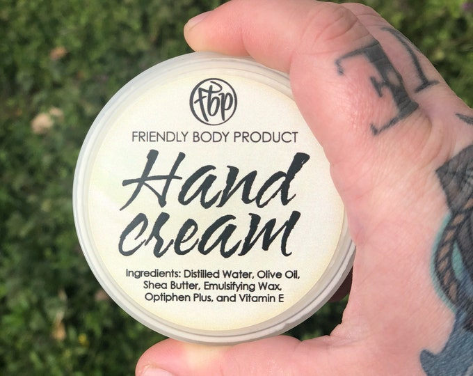 Lotion - Hand Cream - Unscented