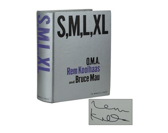 S, M, L, XL ~ Signed by REM KOOHAAS ~ Bruce Mau ~ Second edition 1998