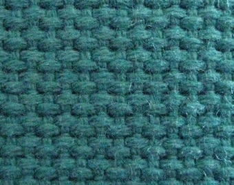"Cotton Webbing 1 1/4"" Teal Heavyweight For Key Fobs Handbags Belts"