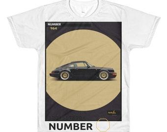Porsche tshirt dye sublimation