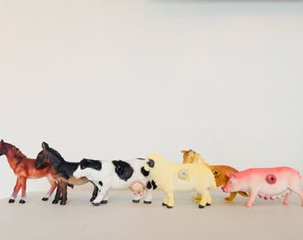 Farm animal furniture knobs - drawer pulls