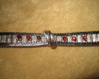 Sterling 835 Silver Bracelet 50s Vintage