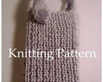 Phone Cozy Knitting Pattern DIY Phone Case Patterns Tutorial Easy with Strap Multiple Styles Tips Sell What You Make Instant Download PDF