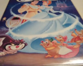 Vintage 1995 Cinderella VHS Movie. The masterpiece collection. One of the most enchanting movies I've ever seen.