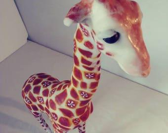 Flower Power Giraffe