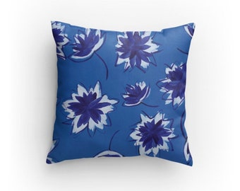 Kansas Blue Pillow