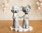 Koala Wedding Cake Topper