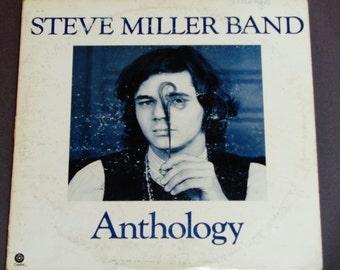 "Steve Miller Band - Anthology with Booklet - ""Space Cowboy"" - ""Your Saving Grace"" - Capitol 1972 - Vintage Rock Vinyl 2 LP Record Album"