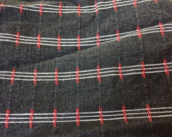 Woven Cotton Fabric Strip, 8 yards long, 8 inches wide