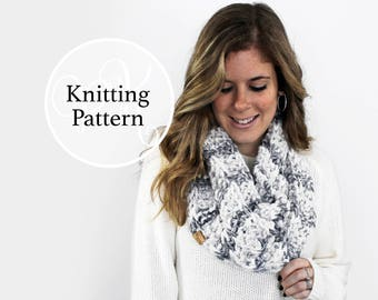 Knitting Pattern Cheverly Cowl Instant Download