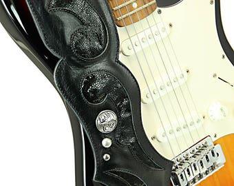 Leather Guitar Strap, Stingray Guitar Strap: Verendielle Guitar Strap