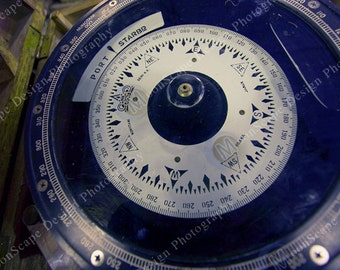 Nautical Collection -Ship Compass - Digital Image Download - port and starbard - Digital Licence Included