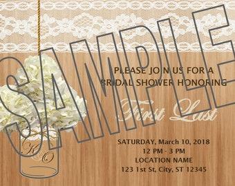 Lace Bridal Shower
