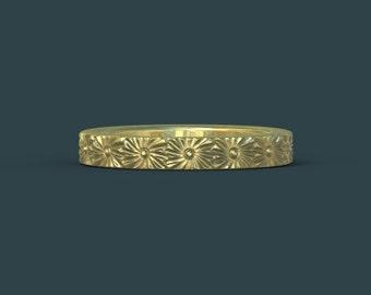 gold wedding ring  gold wedding band gold ring gold ring 14K gold 14 k engagement ring B7Tg
