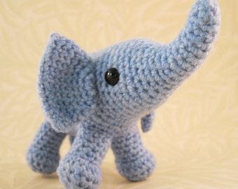 Baby Elephant Amigurumi Pattern PDF - Crochet Pattern