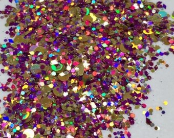 Fixation - 5g solvent resistant nail glitter