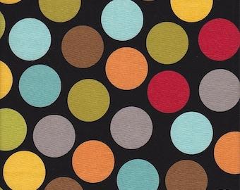 Riley Blake Jumbo Dots in Black - Half Yard