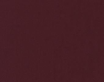 Burgundy Kona Cotton Solids 25cm