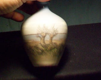 Royal Copenhagen Hand Painted Vase 2893 396