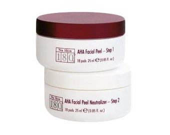 NU Skin 180 AHA Facial Peel and Neutraliser