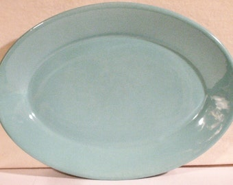 Vintage Coors China Co. Green Platter