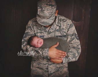 Khaki RTS Stretchy Soft Newborn Knit Wraps 80 colors to choose from, photography prop newborn prop wrap