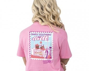 Simply Southern® PREPPYPEACH-FLAMINGO
