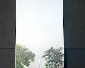 Ventilateur lame art, Lexington MA, nautique, décoration murale, recyclé, pales de ventilateur, peinture historique, affiches de porte