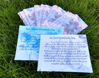 Astrology Tarot Reading Postcard Subscription