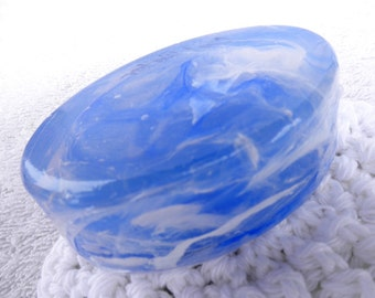 Blue Cool Ocean Marble Soap