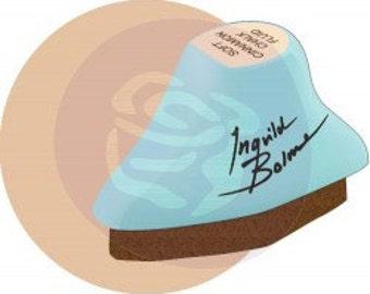 DRY SAND... Individual Prima Chalk Fluid Edger - Ingvild Bolme