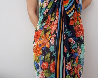 Beach Sarong Wrap / Pareo / Scarf beach / Scarf of Shiffon / Bathing Suit Cover Ups / Beach Cover Ups / Swim Cover Ups / Gift for Her