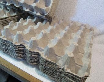 Lot of 25  30 egg flats / cartons