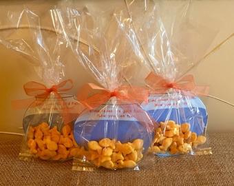 Elmo Goldfish Treat Bag - Party Favor - Goodie Bag - Sesame Street - Birthday Party - Set of 10