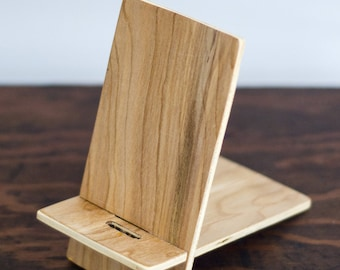 Cell Phone Stand, Moble Phone Holder, Docking Stand, Docking Station, Charging Stand, Portable Cell Phone Stand, Wooden Stand