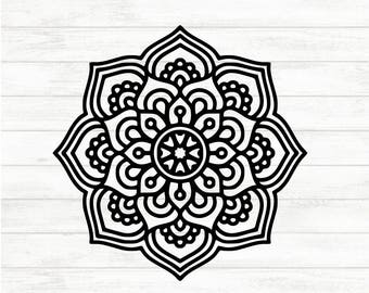 Mandala Decal - Mandala Sticker - Mandala Car Decal - Mandala Car Sticker - Mandala Cup Decal - Mandala Cup Decal - Cup Sticker -