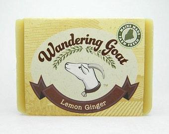 Goat Milk Soap - Lemon Ginger