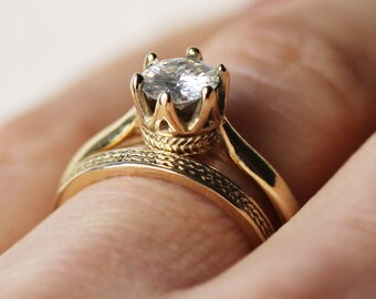 Amazing Wedding Rings curated by Something Turquoise on Etsy