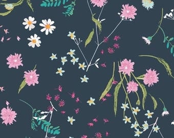 Blossom Swale Depth, Lavish by Katarina Roccella for Art Gallery Fabrics, LAH-16803