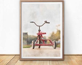 Bicycle Poster, Cycling Art, Bicycle Art, Modern Print, digital art, Bike Print, Retro Poster, Vintage Art, Nordic Wall Art, Office Decor