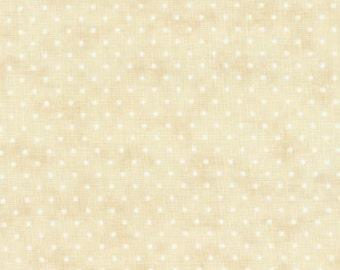 Moda Essential Dots Eggshell - 1 yard 8654 11