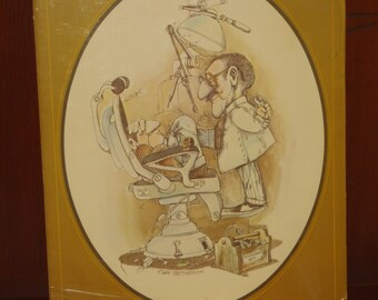 The Dentist - Gary Patterson Vintage Professional Print