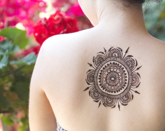 Henna Gift Certificate - Henna Gift - Birthday Henna - Holiday Gift Henna - Henna Tattoo - Temporary Tattoo - Organic Henna - Safe Henna