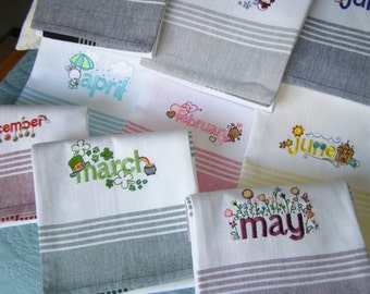 Towel Set for the Whole Year