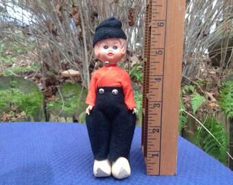 Vintage Doll Dutch Holland Boy