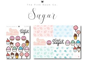 SUGAR theme Planner Stickers