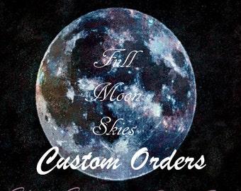 Custom Pin Order- (Singles)