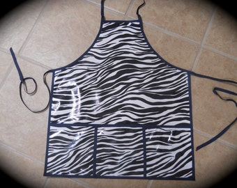 Safari Oilcloth Apron for the Man in your Life