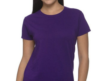 Women's Fit Ultra Cotton T-shirt with Custom Embroidered Design