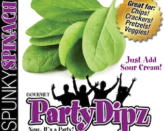 3-Pak of PartDipz Spunky Spinach Dip Mix